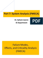 4559(7)System Analysis FMECA