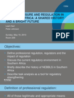 NURSE LICENSURE AND REGULATION IN SOUTHERN AFRICA