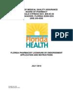 Florida Pharmacist AP Endorsement