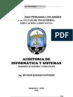 Seguridad y Auditoria de Sistemas-Auditoria de Informatica y Sistemas