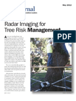 Tree Risk Management Using Radar Imaging