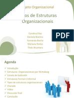 Grupo 1 - Tipos de Estruturas Organizacionais