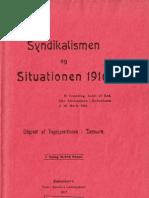 Syndikalismen og Situationen 1916