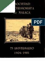Los Karst de Yesos de La Provincia de Malaga Avance 1982