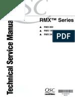 QSC RMX Series 805 1450 2450