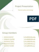 Strategic Management Qarshi Industries