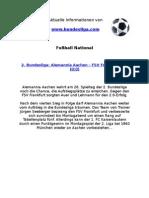 2. Liga - Alemannia Aachen - FSV Frankfurt (2-0)