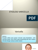 Etiologi Varicella