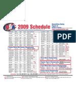 Usa Schedule