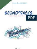 KOSTAS GRIGOREAS - Soundtracks - For Two Classical Guitars