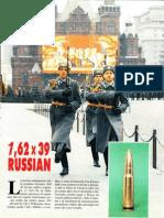 7,62 x 39 Russian - Cartuccia