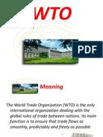 The WTO world trade organisation world trade organisation