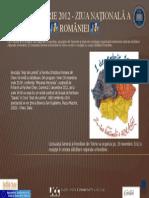 1 Decembrie 2012 - Ziua Naţională a României