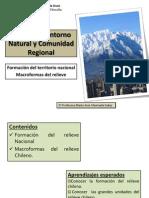 II UNIDAD. Entorno Natural y Comunidad Regional. Relieve