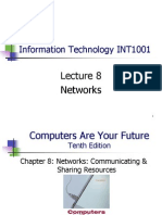 use of computer networking