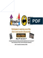 Rebuild McKinley Playground Fundraiser