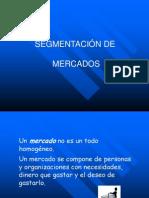 SEGMENTACIÓN DE MERCADOS admon