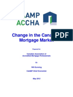 Change in Canadian Mortgage Market