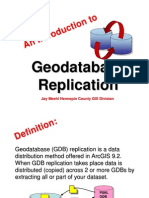 Geo Database Replication