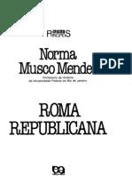 Mendes, Norma Musco - Roma Republicana