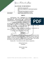 Jurisprudência STJ - fraude caracterizada pela negociação fraudulenta