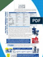 Filtro Prensa MOD MS4000 5000