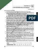 GATE 2013 PI Set D Question Paper