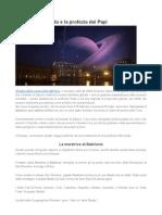 Saturno Retrogrado e La Profezia Dei Papi