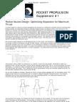 Rocket Propulsion - Supplement #1