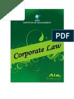 Corporate Law.