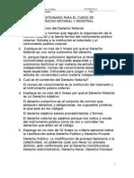 Cuestionario Derecho Not y Reg