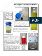 Cds Making Shot Glass Method