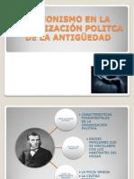 EL MONISMO EN LA ORGANIZACIÓN POLITCA DE LA