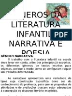 Generos Da Literatura Infantil_ Narrativa e Poesia
