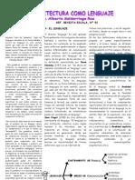 Alberto Saldarriaga - La Arquitectura Como Lenguaje - Revista Escala - 92