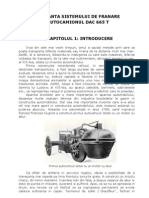 Mentenanta Sistemului de Franare La DAC 665 T