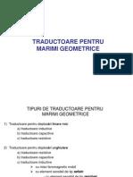 Traductoare Geometrice