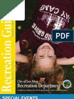 2013 Summer Brochure Los Altos Recreation