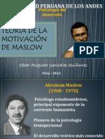 CESAR GONZALES - Teoria de la motivaciobn de MASLOW^^.pptx