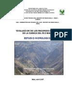 Estudio Hidrologico Mala