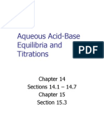 Acids Bases and Titrations