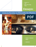 Filosofia Platon y Ciencia Ficcion