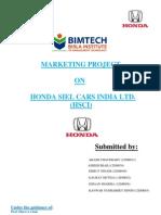 Honda Project Report