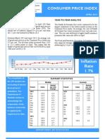 Consumer Price Index - Apr 13 Final