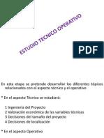 Estudio Técnico-Operativo