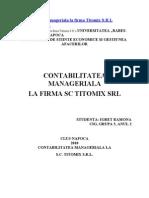 Contabilitatea Manageriala  Titomix