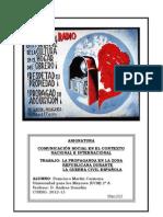 LA PROPAGANDA EN LA ZONA REPUBLICANA DURANTE LA G. CIVIL ESPAÑOLA
