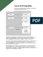 arquitectura postgreSQL
