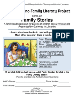 2013 Quitman Public Library Latino Family Literacy Sesision-English Vers