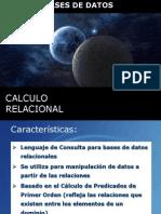Calculo Relacional (Bd)